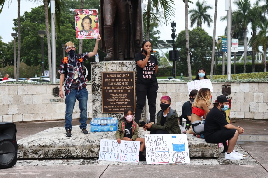 Organizer of Breonna Taylor Protest