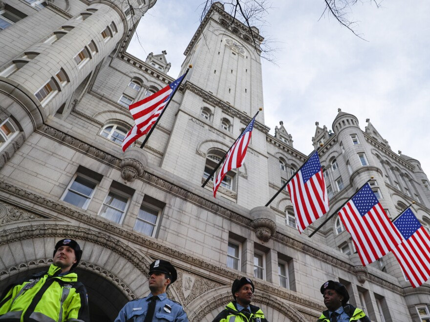 The Trump International Hotel in Washington, D.C., sits at the center of what top Democrats and some ethics advisers see as a unique web of conflicts of interest.