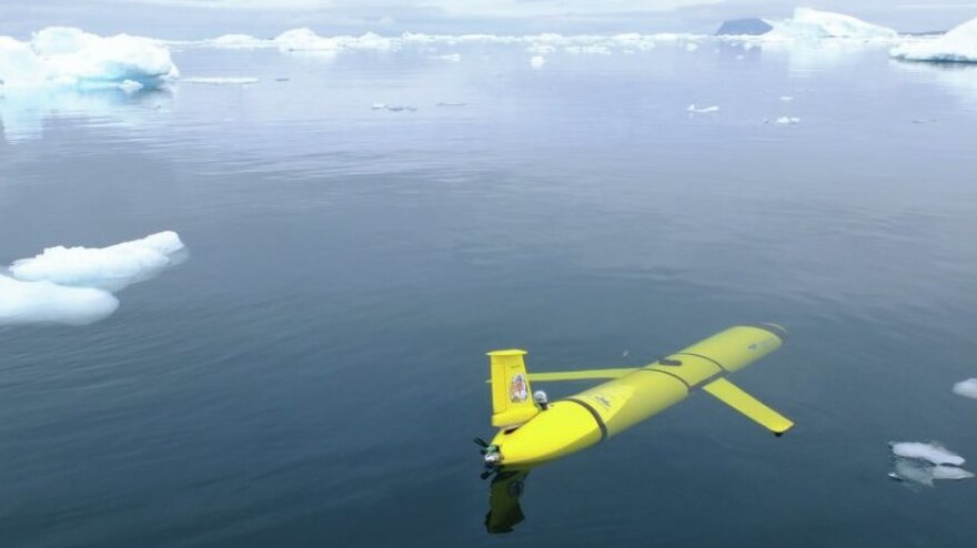 Instead of a large research vessel, the name Boaty McBoatface will be attached to a submersible like this one, according to Britain's science minister.