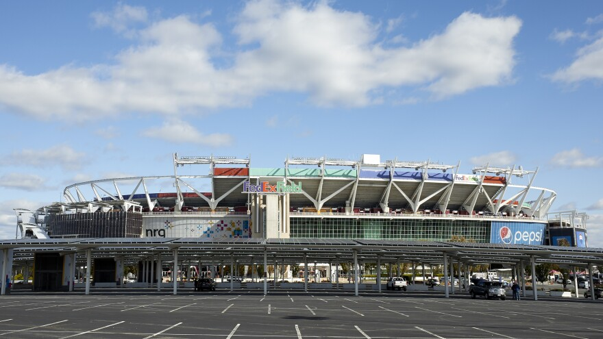 A general view of FedEx Field in Landover, Md.