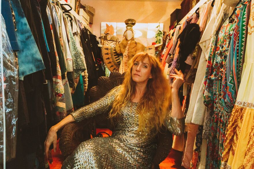 Editor, stylist and connoisseur of vintage clothing Libby Callaway was one of the founding members of the Nashville Fashion Alliance. This is her closet.
