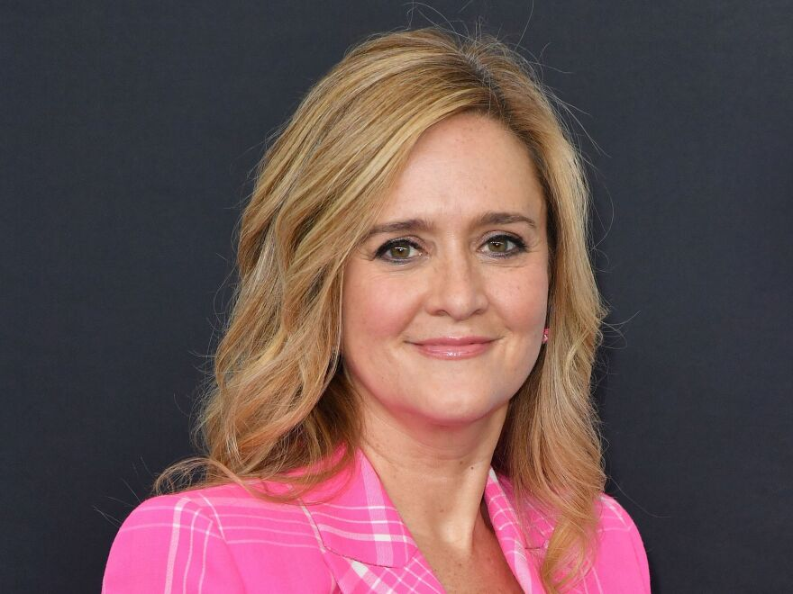 Samantha Bee arrives at Madison Square Garden in New York City on May 16, 2018.