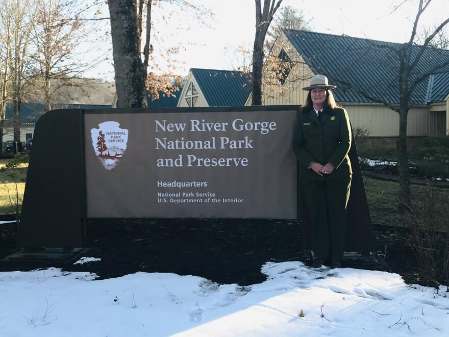 New River Gorge National Park Sign