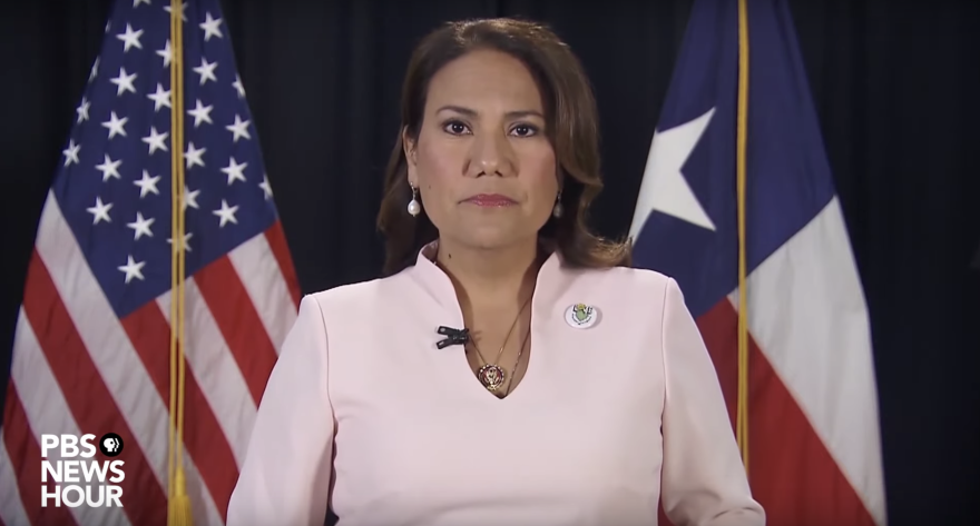 Rep. Veronica Escobar, D-Texas, delivered the Spanish-language response to President Trump's State of the Union address Tuesday.