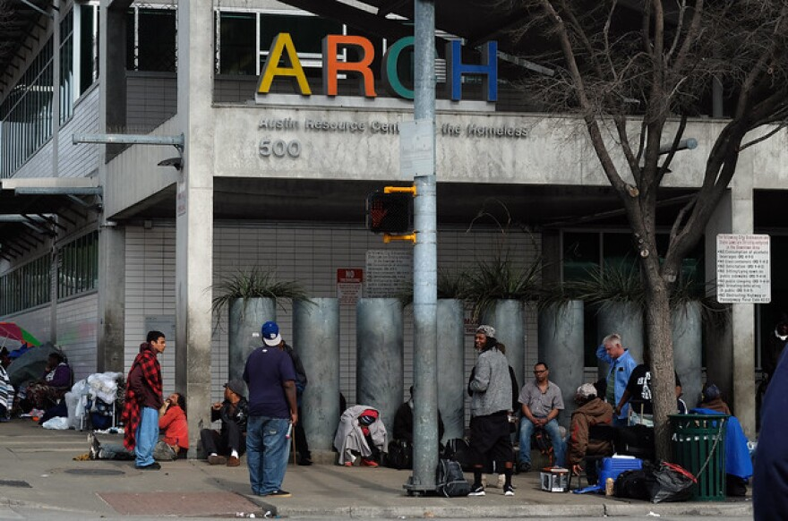 The Austin Resource Center for the Homeless