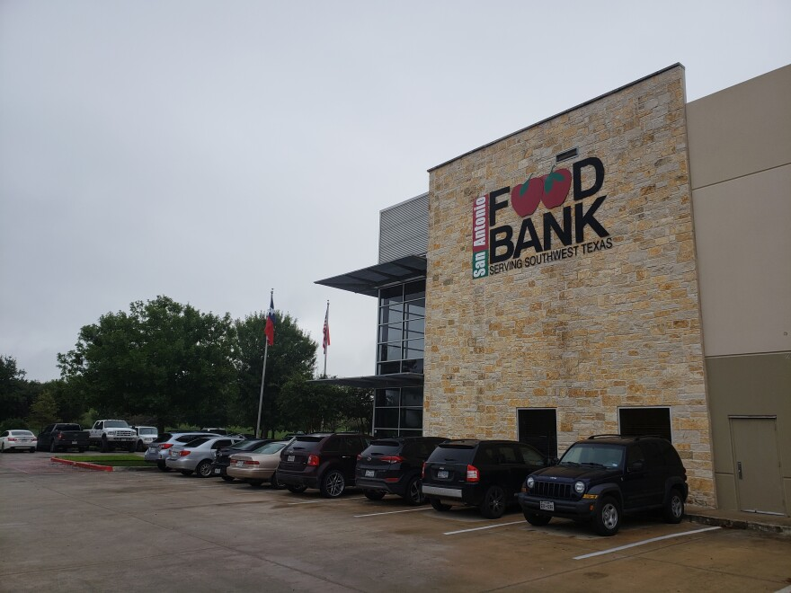 San Antonio Food Bank exterior in September 2018.