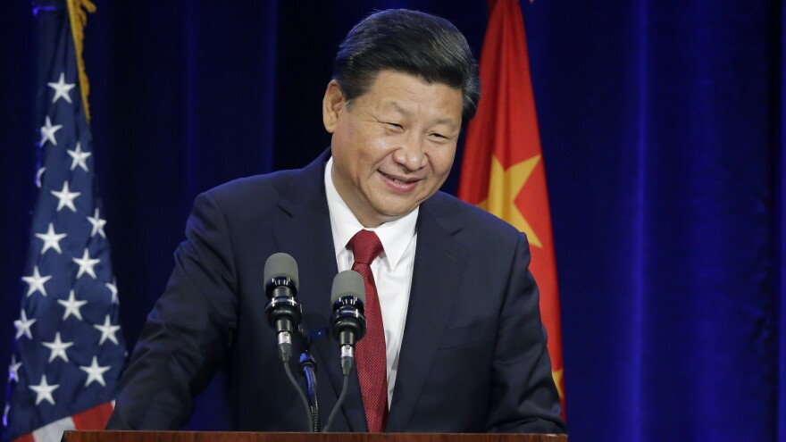 """""""I was most captivated by Ernest Hemingway's <em>The Old Man and the Sea</em>,"""" Chinese President Xi Jinping told his audience at a banquet in Seattle on Tuesday night."""