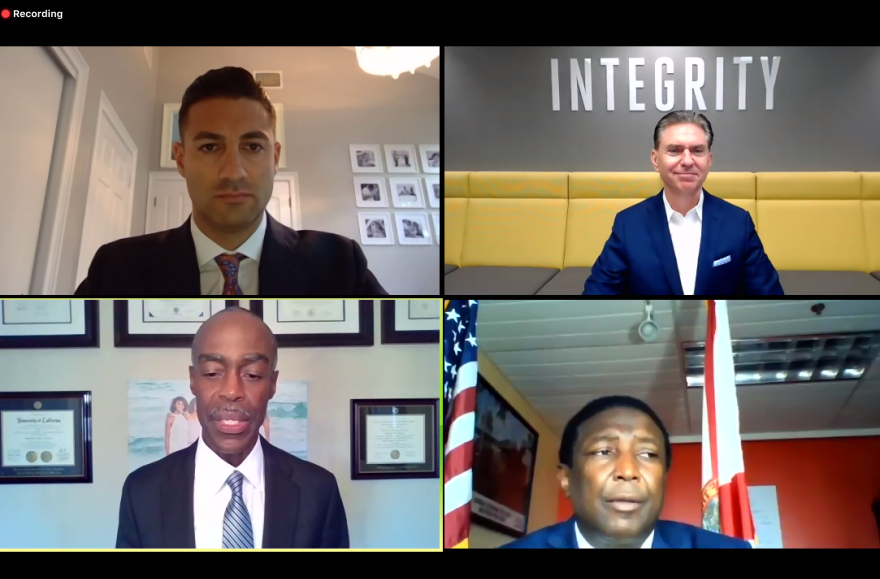 Superintendent Robert Runcie, and Broward County Mayor Dale Holness joined a Zoom roundtable Friday to give the county COVID-19 updates.