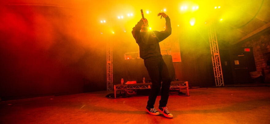 Vince Staples performs at SXSW in 2016.